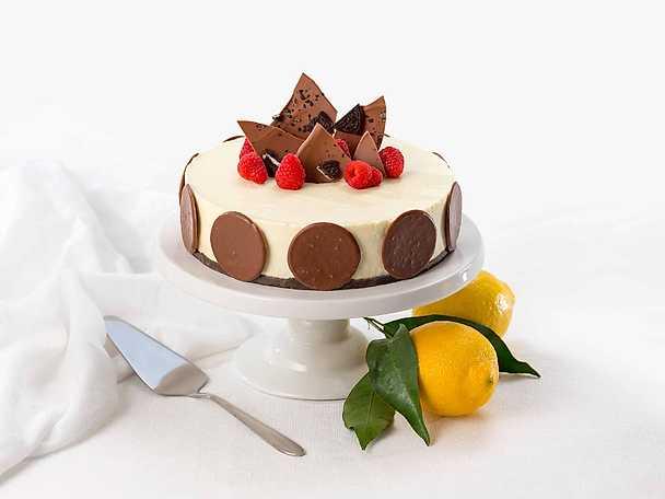 Krämig cheesecake med Oreo och Noblesse