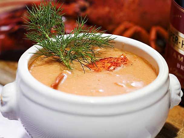 Krämig hummersoppa