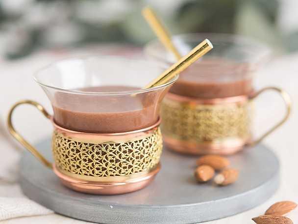 Krämig nötdryck med kakao