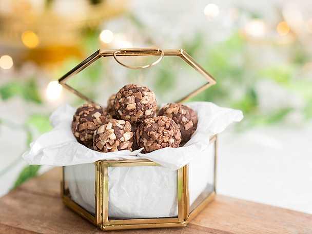 Krämiga chokladbollar