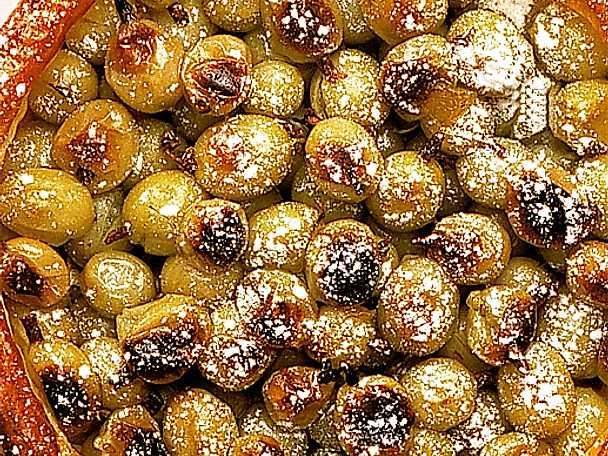 Krusbärspaj med vispgrädde