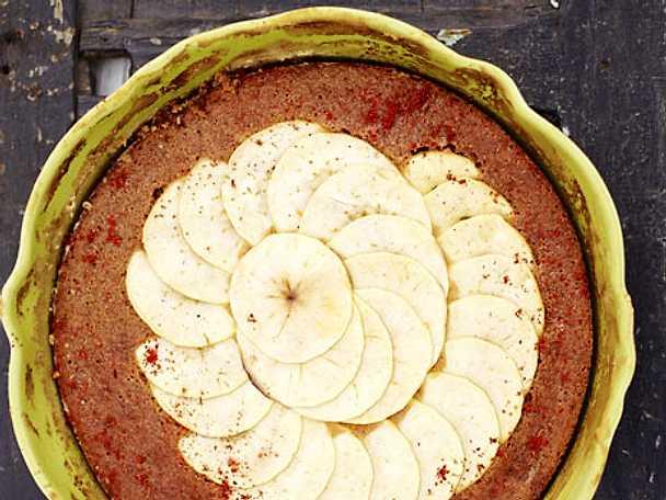 Kryddig äppelkaka med honung