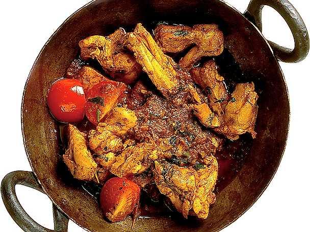 Kryddig kycklingcurry