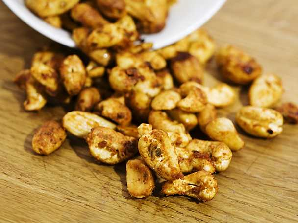 Kryddiga nötter