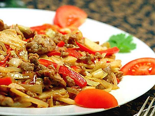 Kryddigt kinesiskt fläsk