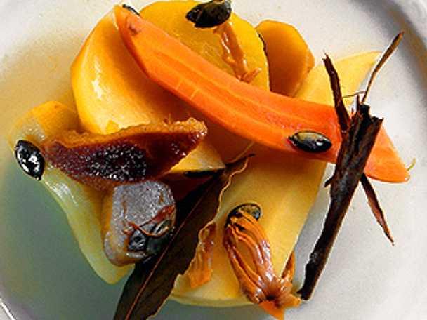 Kryddkokta rotfrukter