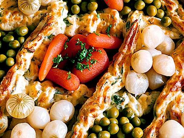 Kryddmos med grönsaker