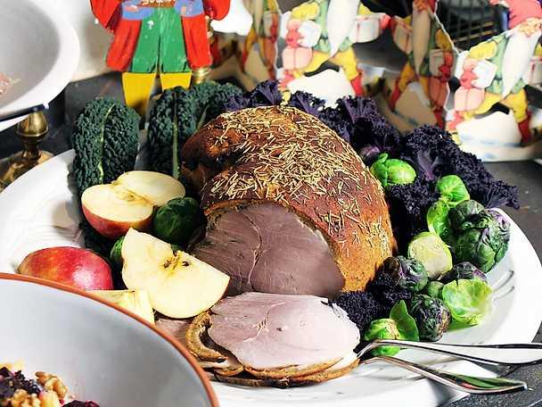 Kryddrimmad skinka, Ernsts recept