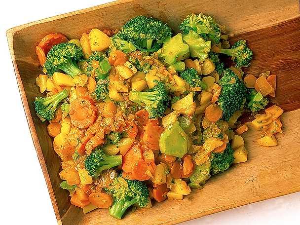 Kryddstarka grönsaker