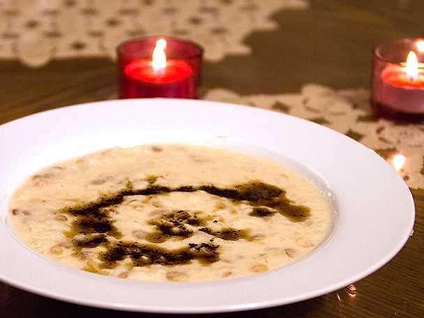 Kurdisk yoghurtsoppa