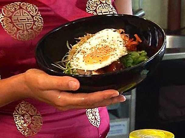 Kyckling Bi Bim Bap