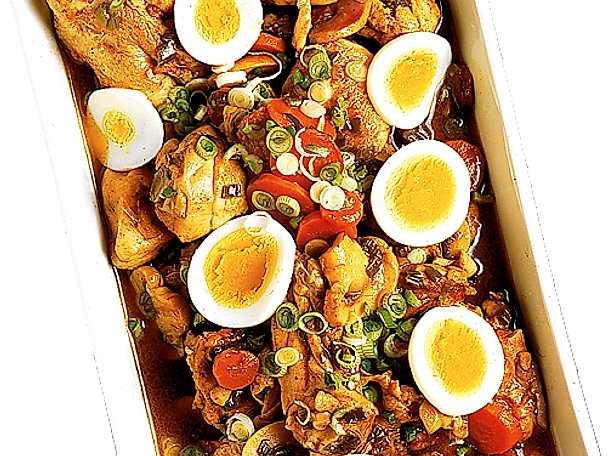 Kyckling i grönsaksstuvning