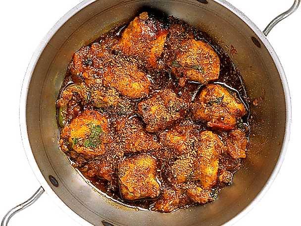Kyckling med garam masala