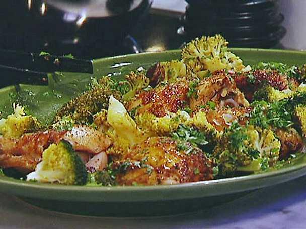 Kyckling med ris och curry