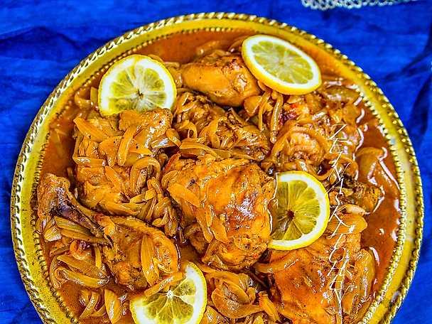 Kyckling yassa - kycklinggryta från Senegal