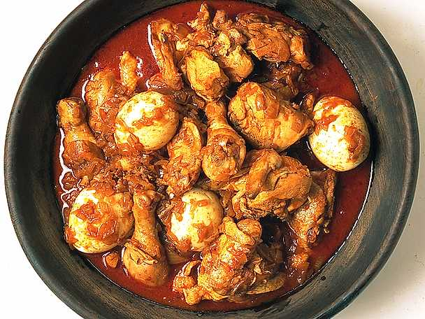 Kycklinggryta i pepparsås