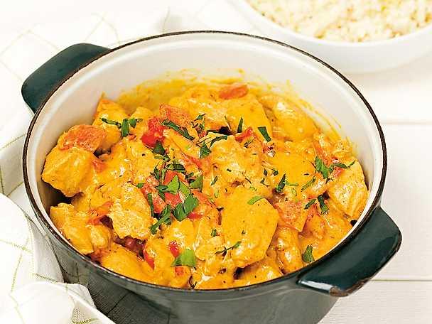 Kycklinggryta med curry NY