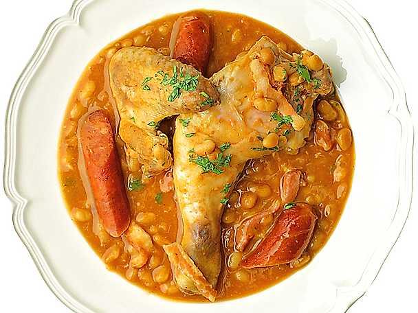 Gula Koket : Kycklinggryta med kabanossen  Recept fron Koketse