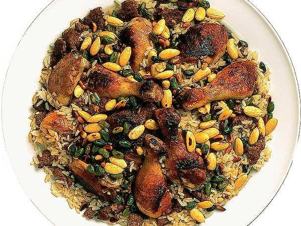 Kycklinggryta med mandel