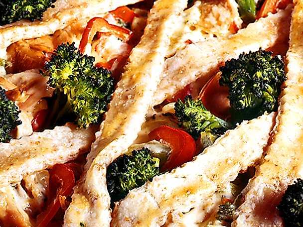 Kycklingpaj med broccoli