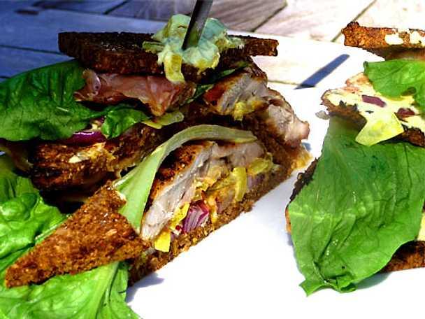 Kycklingsandwich