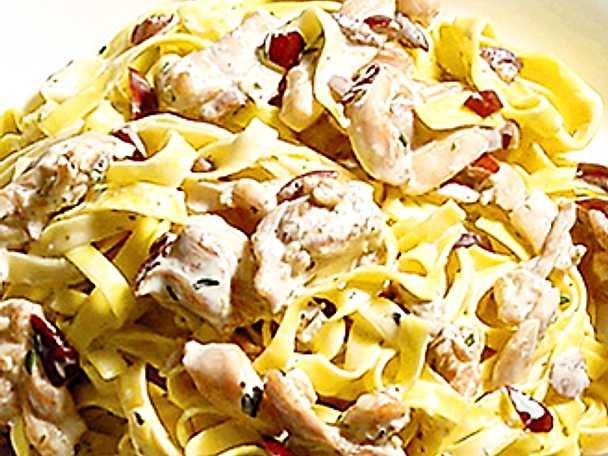 Kycklingsås till pasta