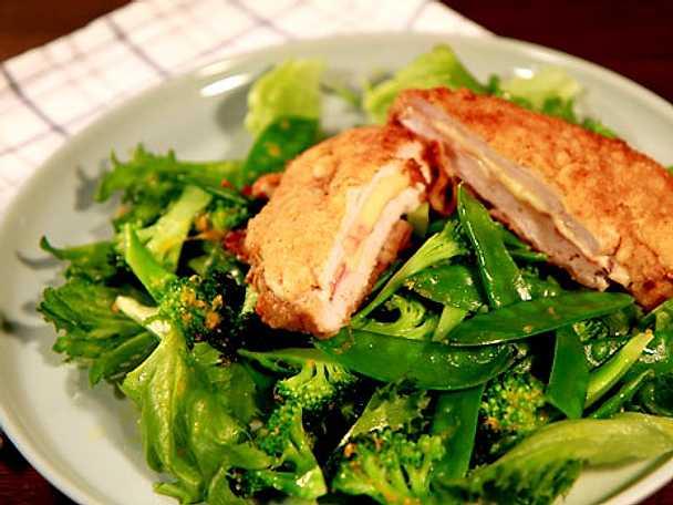 Kycklingschnitzel Cordon Bleu