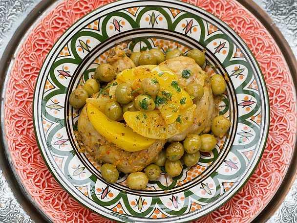 Kycklingtagine, Markiz recept