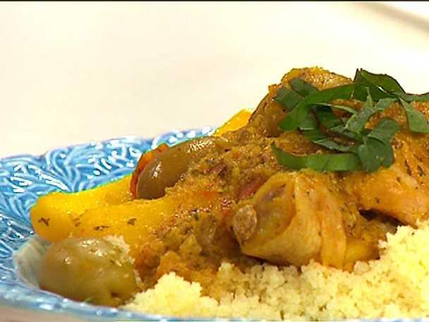 Kycklingtagine med couscous
