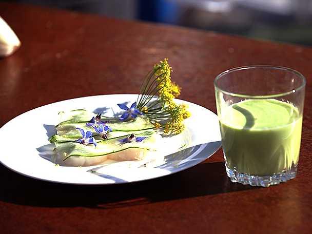 kyld gurk- och krondillsoppa