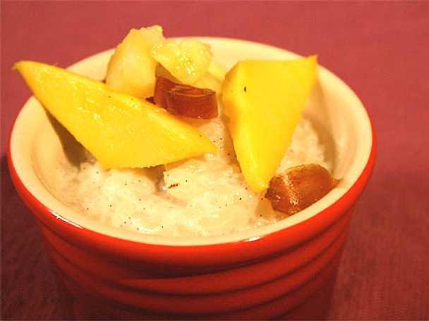 Kylt, sött kokosris med palmsocker