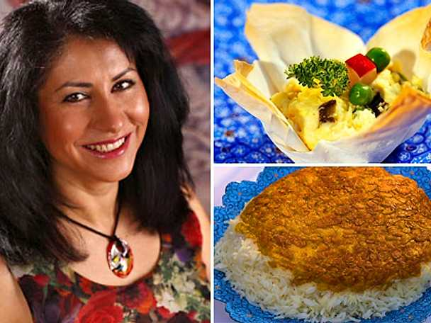 Laleh bjuder på persiska godsaker