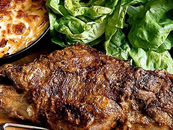 Lammstek med fransk potatiskaka