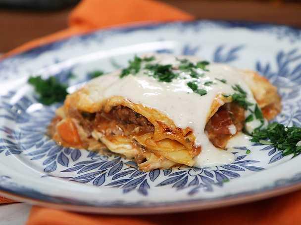 Lasagne al forno - Paolo Robertos recept
