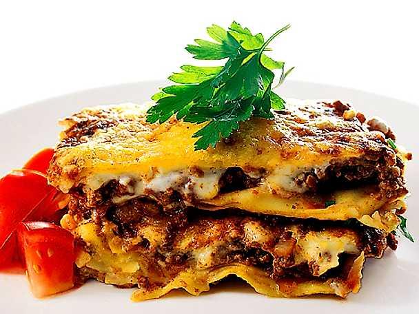 Lasagne med köttfärssås
