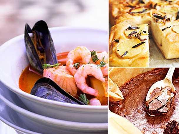 Lättlagat med fisk- och skaldjurssoppa