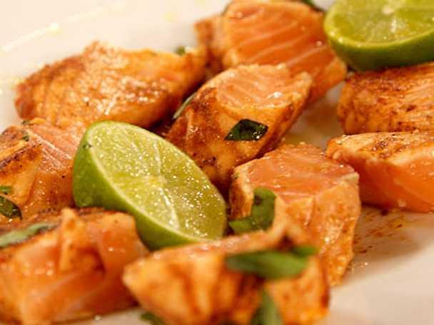 Lax med röd thaicurry
