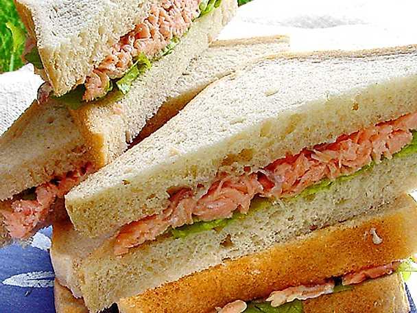 Laxfyllning till sandwiches