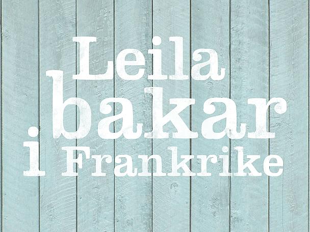 Leila bakar i Frankrike logo