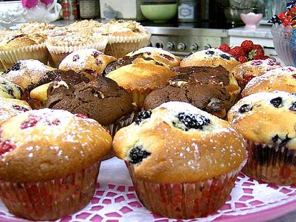 vanilj muffins leila recept