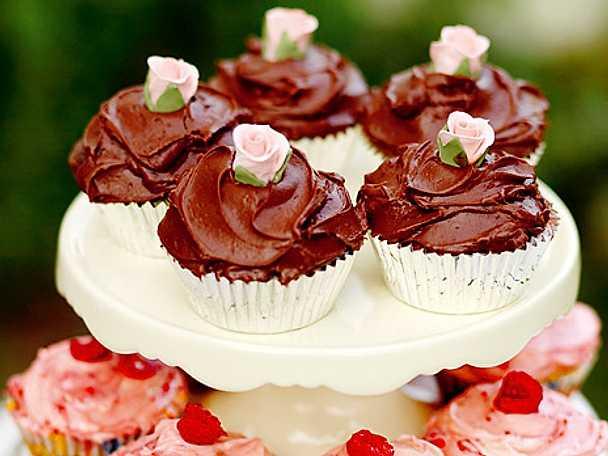 Leilas chocolate cupcakes
