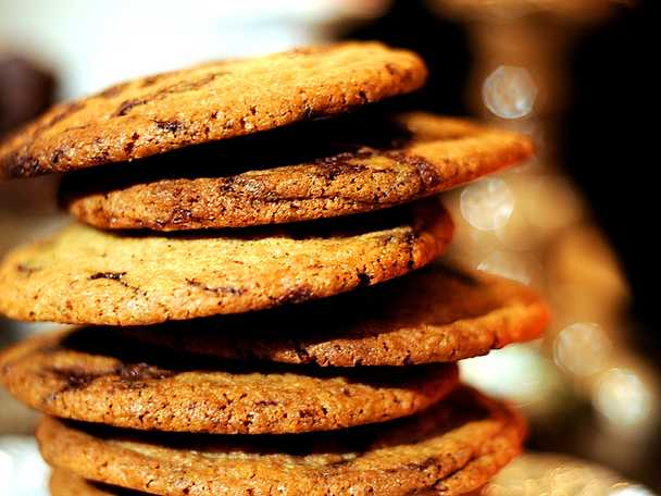 Leilas cinnamon chocolate chip cookies