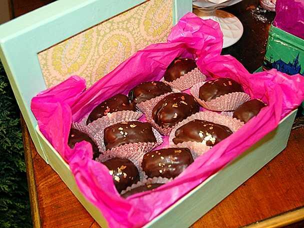 Leilas dadlar med nutella