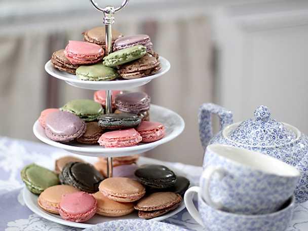 Leilas franska macarons