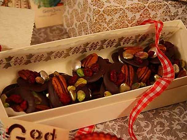 Leilas juliga chokladprickar