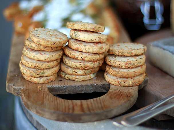 Leilas rosmarinkex med parmesan