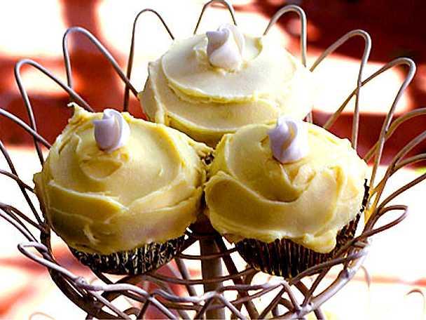 Leilas wedding cupcakes med vit choklad