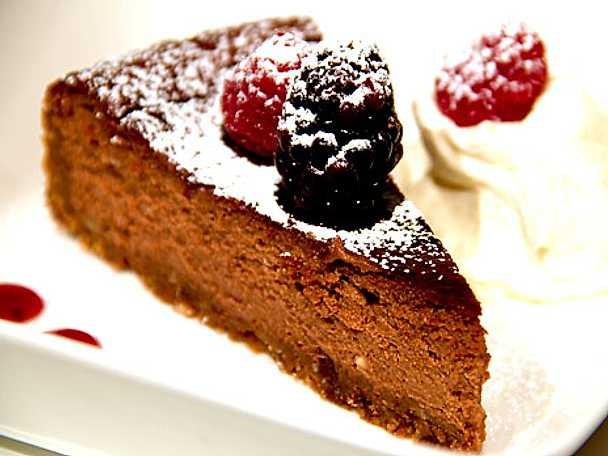 Len chokladcheesecake