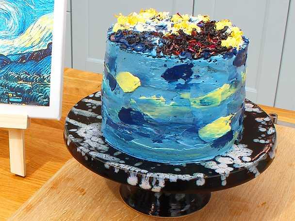 Linns van Gogh-tårta