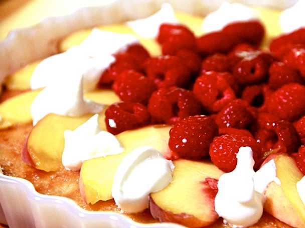 Lisés mandelmassetårta